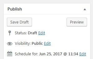 Scheduling posts with wordpress