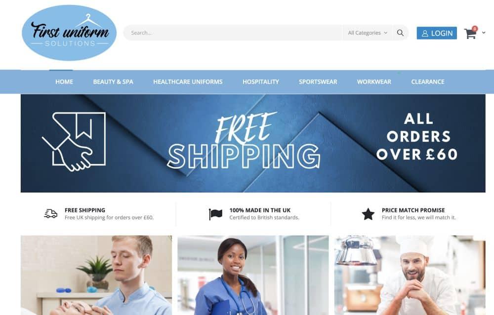Shopify web design Birmingham Wolverhampton West Bromwich